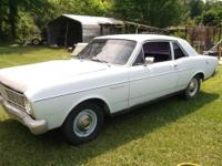 1966 Ford Falcon Sport Coupe 2-door six cylinder 200ci