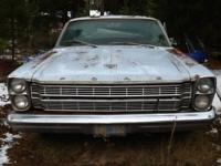 1996 ford galaxie 500 body solid. Seem no rust bottom