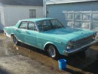 1966 ford Galaxie good running car looks good needs