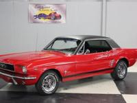 Stk#065 1966 Ford Mustang Restoration completed in