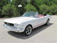 Just in is this cool Resto Mod 1966 Ford mustang