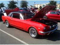 1966 Mustang GT coupe - 289 A code engine with factory