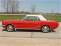 1966 Mustang Coupe. 289 V8, automatic and nice dual