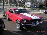 This is a nice 1966 Ford Mustang