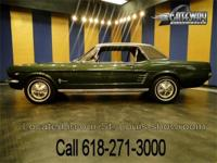 1966 Ford Mustang for sale! This A code Mustang is