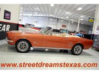 This beautiful Mustang is fully restored and ready to