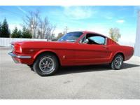 This 1966 Ford Mustang fastback is a fresh ground up