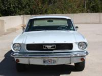 This adorable original Mustang features a 289 cu in