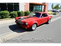 This 1966 Ford Mustang Coupe (Stock # B1741) is