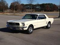 1966 Ford mustang coupe , Was restored back to all