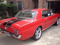 1966 Ford Mustang coupe289 V8 single barrelPony