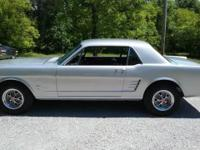 1966 Mustang totally restored . All matching numbers.