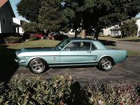 66 Mustang Coupe Auto, 289, P/S, A/C, D/B. New Paint,
