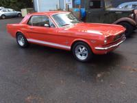 1966 Ford Mustang  This beautifully restored 1966