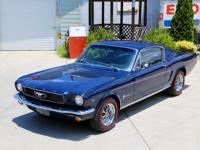 Up for sale we have a 1966 Ford Mustang Fastback. This