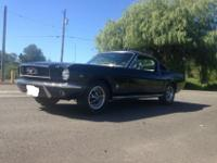 1966 Ford Mustang Fastback. This is a great daily