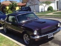 Up for sale is my beloved 1966 Ford Mustang coup. This