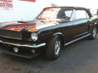 1966 Ford Mustang C code with a 289ci V8 engine and