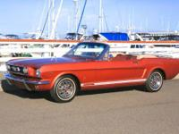 1966 FORD MUSTANG CONVERTIBLE. # 6F08C194434. This is a