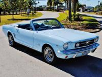 1966 Ford Mustang Convertible. Total restoration