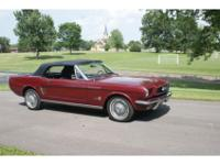 This 1966 Mustang Convertible has the features that you