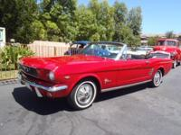 A fun top down car! Thats what this Mustang is. It is