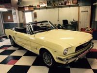 This beautiful 1966 Mustang Convertible, 289 v8,