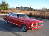 For sale is a beautifully restored 1966 Mustang, C