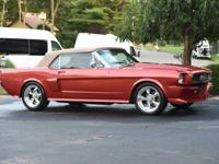 1966 Ford Mustang Convertible Restomod Automatic. THE