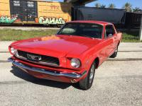 1966 Ford Mustang Coupe 289 cubic inch V8 Automatic.