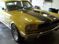 Definitely lovely 1966 Mustang with a 289 V-8 engine