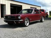 Vehicle Description  1966 Ford Mustang, Has