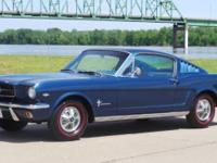 This entirely restored gorgeous 1966 Mustang Fastback 2