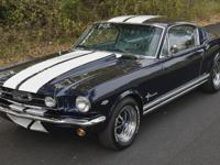 This car  is the super sharp '66 Mustang 2+2