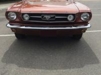 1966 Ford Mustang GT 289 V8 Fastback Gorgeous.