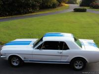 Vehicle Description 1966 Ford mustang coupe , GT
