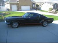 Original Fastback GT 66 Mustang with all original OEM