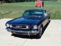 1966 Ford Mustang GT Fastback V8 4bbl. Always stored in