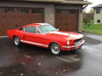 1966 Ford Mustang K Code Fastback (Shelby Clone). You