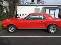 1966 Ford Mustang (OR) - $21,900 Exterior: Red