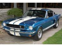 1966 Shelby GT350 The 1966 model, essentially a wolf in