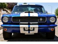 This 1966 Shelby GT350 Recreation Racer is one of the