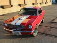 For Sale is a Show Stopping 1966 Mustang Shelby GT350