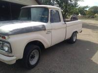 1966 Ford F100 This truck has a 390 4 speed posi rear