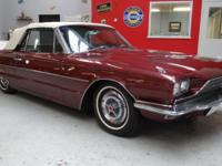 Great 1966 Ford Thunderbird Convertible. Brought back
