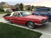 1966 Ford Thunderbird Convertible in excellent