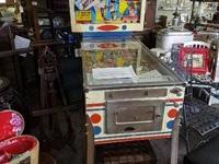 Supplying this 1966 Gottlieb Mayfair Pinball Equipment.