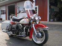 A lovely 1966 Electra Glide.I bought this from the