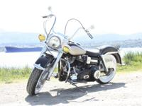 This 1966 Harley Davidson Electra Glide FLH is a full
