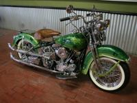 1966 Generator Shovelhead custom built from the ground